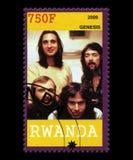 Genesis Postage Stamp from Rwanda Stock Images