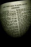 genesis szereg sepiowe biblii zdjęcie stock