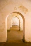 Genestelde deuropeningen Royalty-vrije Stock Afbeelding