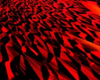 Genetic Art Sand Slope Red Royalty Free Stock Images