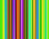 Genetic Art Vertical Stripes Neon Green Red Purple Stock Images