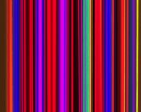 Genetic Art Vertical Stripes Neon Red Violet Green Stock Photography