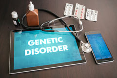 Genetic disorder (deficiency, gene, syndrome) diagnosis medical Stock Image