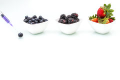 Genetic Modification, blueberry, blackberry, strawberry, fruit, Royalty Free Stock Photography