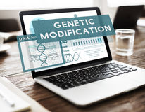 Genetic Mutation Modification Biology Chemistry Concept Royalty Free Stock Photography