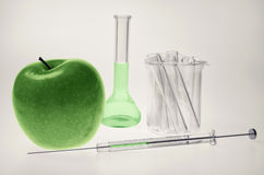 genetically доработанная еда Стоковые Фото