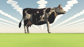 Genetically modified cow Stock Photos