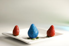 Genetically Modified Fruits Stock Photography