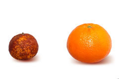 Genetically modified fruits Royalty Free Stock Photography