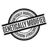 Genetically Modified rubber stamp Stock Photography