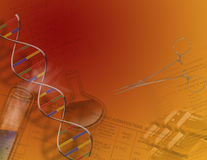 Genetics & Science stock illustration