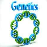 Genetics Science Stock Image
