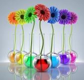 Genetische Experimenten vector illustratie