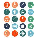 Genetische pictogrammen stock illustratie
