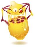 genetiskt ändrad citron Arkivbild