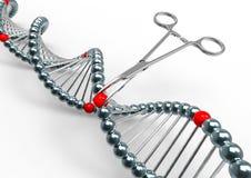Genetycznego kodu inżynieria ilustracja wektor