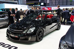 Geneva 2012 - Brabus e v12 Stock Photo