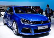 Geneva 2012 - Volkswagen golf R Stock Photography