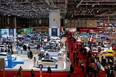 Geneva 79th International Motor Show Royalty Free Stock Images