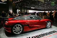 Geneva, 79th International Motor Show Stock Photography