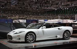 Geneva 81st International Motor Show Stock Photo