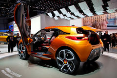 Geneva 81st International Motor Show Royalty Free Stock Image