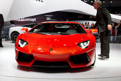 Geneva 81st International Motor Show Stock Photos