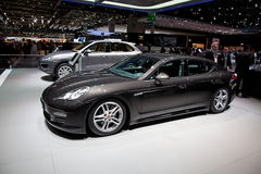 Geneva 81st International Motor Show Stock Photography