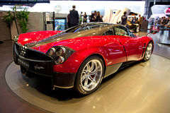 Geneva 81st International Motor Show Royalty Free Stock Photo