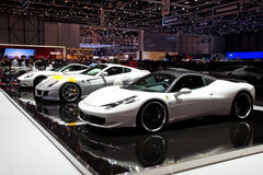 Geneva 81st International Motor Show Stock Images