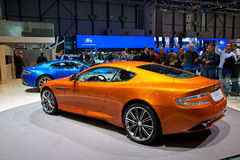 Geneva 81st International Motor Show Royalty Free Stock Images