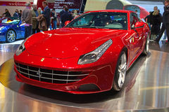 Geneva 81th International Motor Show Royalty Free Stock Photo
