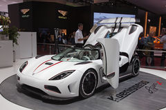 Geneva 81th International Motor Show Stock Image