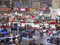 Geneva 81th International Motor Show Stock Photos