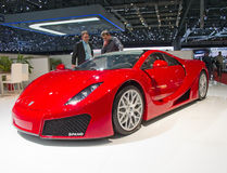 Geneva 81th International Motor Show Royalty Free Stock Photos
