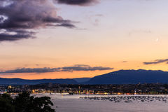 Geneva aerial, Switzerland Royalty Free Stock Photo