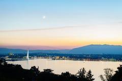 Geneva aerial, Switzerland Stock Photography