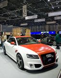 Geneva auto salon 2009 Audi TT Stock Photo