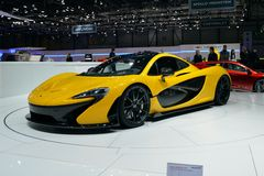 McLaren P1 Stock Images