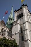 Geneva Cathedral Stock Photo