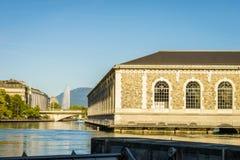 Geneva city Royalty Free Stock Images