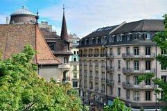Geneva city centre Stock Images