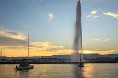 The Geneva city Stock Photography