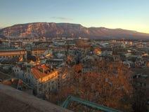 Geneva city and Saleva mountain, Switzerland (HDR) Royalty Free Stock Photography