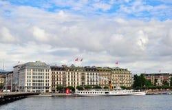 Geneva city, Switzerland Royalty Free Stock Photography