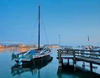 Geneva Cityscape - Old Sailing Ship Royalty Free Stock Photos