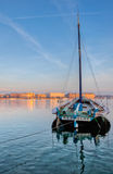 Geneva Cityscape - Old Sailing Ship II Stock Photo