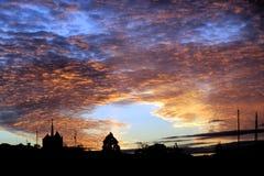 Geneva at dusk Stock Images
