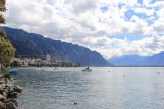 Geneva lake Royalty Free Stock Image