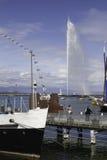 geneva lake Fotografering för Bildbyråer